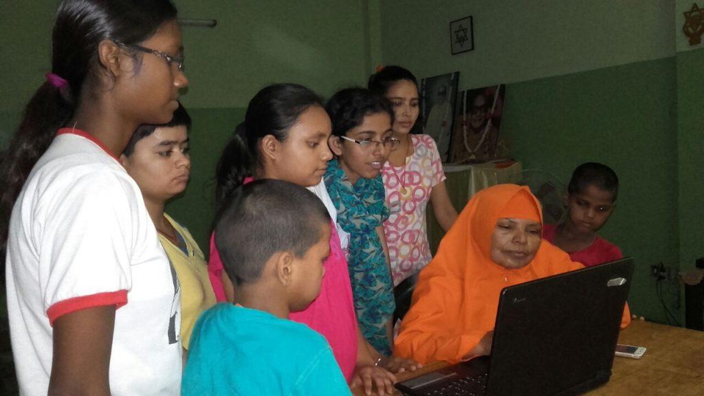 Childrens home New Dehli India DigiAid