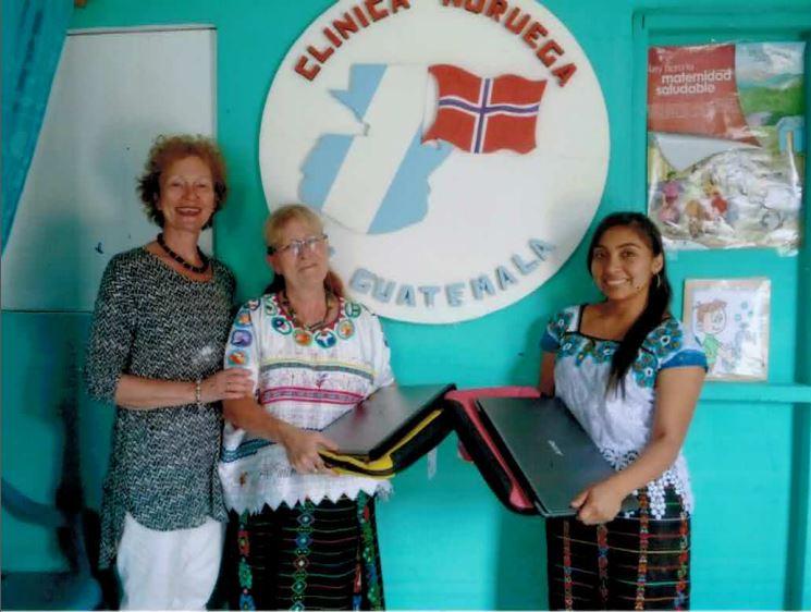 Fra klinkken. DigiAid DigiFix Clinicua Noruega Guatemala